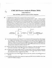 CME265 W2016 Assignment 8 Solution