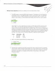 BAM 313 Introduction to Financial Management Unit 3 Exam x.PDF