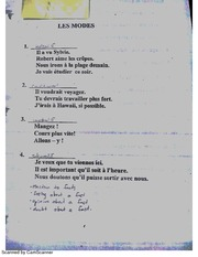 French 12 Les Modes
