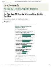 On Pay Gap, Millenial Women Near Parity For Now.pdf