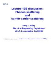 224_1_EE224 Lecture 13b v3 2014 discussions --- Phonon scattering.pdf