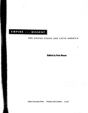 Knight, Empire and Dissent US Imperialism & Latin American Resistance
