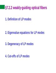 15 weakly-guiding optical fibers.ppt
