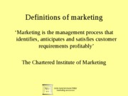 a.Introduction to marketing planning 1