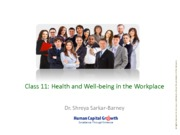 Class 11_Health and Well-being in the Workplace_2015-2