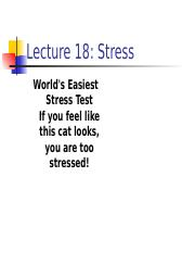 Lecture 10 Slides - Stress.ppt
