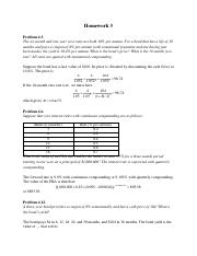 Homework 3 with answers