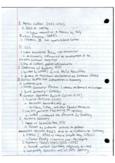 AP European History Lecture 10 Notes