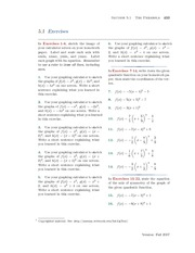 Chapter 5: Exercises with Solutions