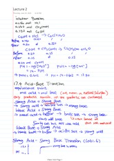 Chem 1AA3 Class Notes iclicker questions