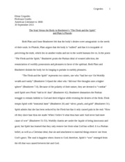 Summary And Analysis Of The Flesh And The Spirit By Anne Bradstreet   Pages Anne Bradstreet Essay
