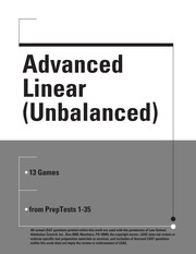 Advanced Linear Unbalanced