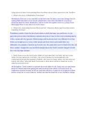 Huckleberry Finn -- overview of plot and theme.docx
