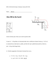 Quiz On Chapter 4