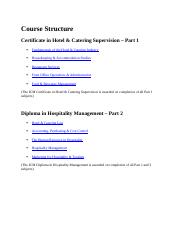 Course Structure hospitality management.docx