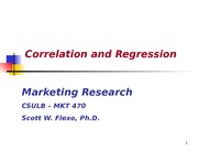 Chapter 14 -Correlation and Regression-2
