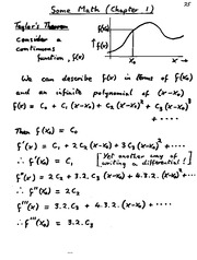 Matrices and Vector Calculus