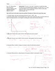Midterm #2 with Solutions S14