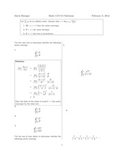 Math 1172 9.5 Solutions Sp 2014