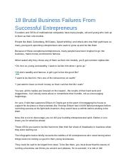 Webwriterspotlight_18 Brutal Business Failures From Successful Entrepreneurs.docx