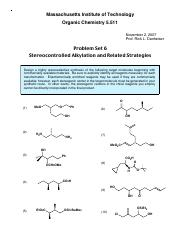 T6 - Stereocontrolled Alkylation and Related Strategies