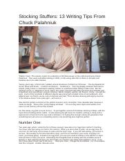 13 Writing Tips from Chuck Palahniuk.docx