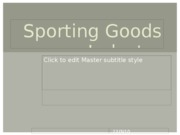 Sporting_Goods_Industry