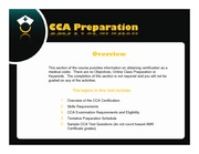 Certified Coding Associate (CCA) Preparation