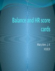Balance and HR score cards.pptx