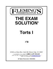 Torts Outline - Flemings.pdf