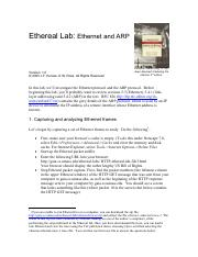 Ethereal_Ethernet_ARP