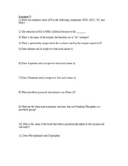 Lecture 7 Questions