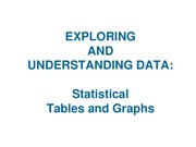 Lecture 2 Categorical Data_Tables and Graphs