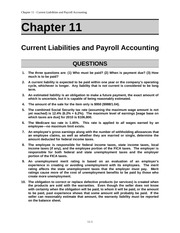 Acct 211 Chap011 Solutions manual