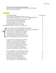 Find poems to illustrate elements of poetry.docx