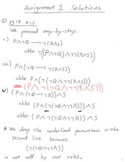PMATH 330 Logic Assignment 1 Solution