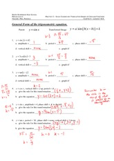 Chapter 4, Lessons 7-8 Review Answers