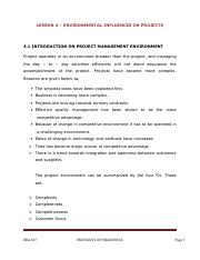 PM -04 - INTRO TO PROJECT MANAGEMENT ENVIRONMENT.pdf