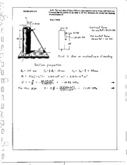 955_Mechanics Homework Mechanics of Materials Solution