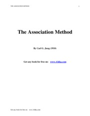 (Psiho) - Jung, Carl G. - The Association Method