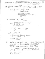 HW 3 Solutions (Chapter 4)