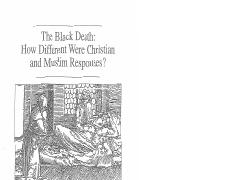 Ch 10 - Black Death - Muslin & Christian Responses - Documents.pdf