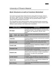 biological psychology worksheet university of phoenix Articulation agreements are formal agreements that exist between the county  college of morris and four year colleges and universities  university of  phoenix.