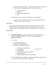 Ecology Unit Chapters 55-59 Notes PART 4