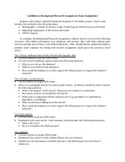 Guideline on Background Research Assignment-2.docx