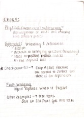 Geology Chpt 9 Notes