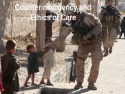 Counterinsurgency andRS 283 Ethics of Care
