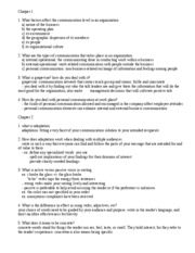 Bus 100 Study Guide