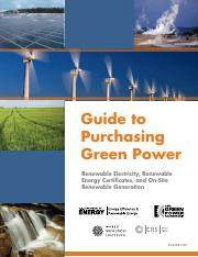 Guide to Purchasing Green Power