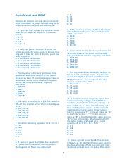 Kupdf Net Latihan Soal Test Gmat Pdf Contoh Soal Test Gmat A 8 B 10 C 14 D 19 E 21 Kemarin Ini Sempet Cari Soal Dan Conton Soal Untuk Test Gmat S2 Course Hero